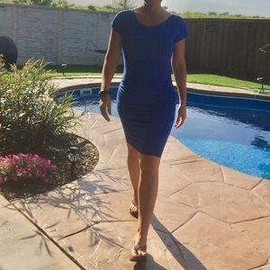 Venus Body Con Ruched Dress